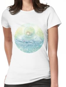 Angel sweet Womens Fitted T-Shirt