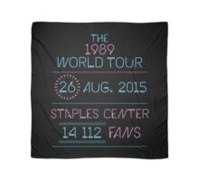 26th August - Staples Center Scarf