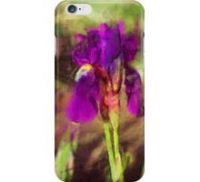 Iris in a Garden iPhone Case/Skin