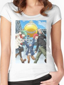 """Assassination Classroom"" Women's Fitted Scoop T-Shirt"
