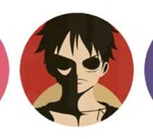 ONE PIECE - TEAM LUFFY ! Sticker