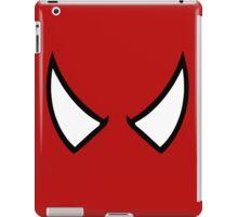 SPIDERMAN EYES - drawing iPad Case/Skin