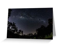 Wide view of the Milky Way Greeting Card