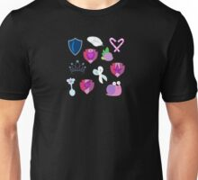 My little Pony - Foals of Ponyville Cutie Mark (with Nyx + Spike) V2 Unisex T-Shirt