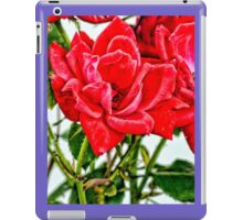 Red Roses For A Blue Lady iPad Case/Skin