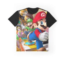 Mario vs Wario Graphic T-Shirt