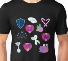 My little Pony - Foals of Ponyville Cutie Mark (with Nyx + Spike) Unisex T-Shirt