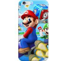 Mario World - Sky iPhone Case/Skin