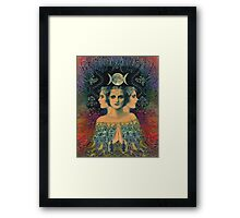 PSYCHEDELIC India Framed Print