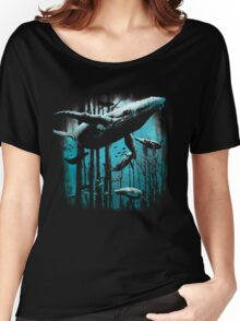 Whale Forest Women's Relaxed Fit T-Shirt