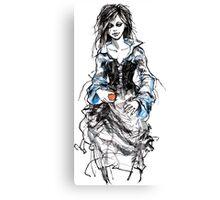 The return of Snow White Canvas Print
