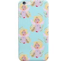 Cute Blonde Angel Pattern iPhone Case/Skin