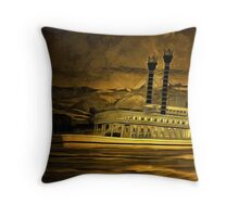 An old style digital painting of The Robert E Lee Throw Pillow