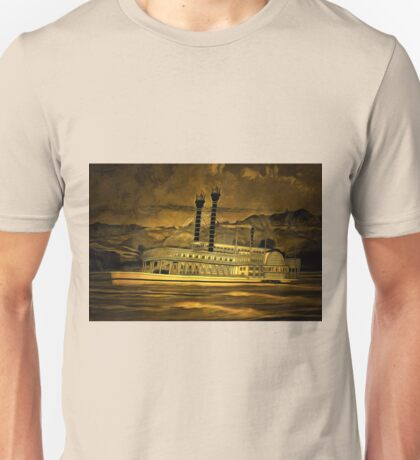 An old style digital painting of The Robert E Lee Unisex T-Shirt