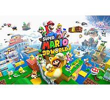 Super Mario 3D Photographic Print