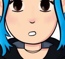 Ramona Flowers, Blue hair Sticker