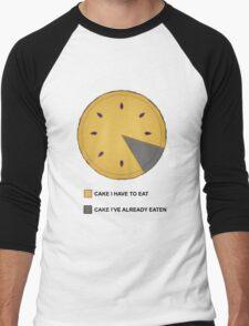 Cake Chart! Men's Baseball ¾ T-Shirt