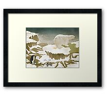 Yellow Snow Framed Print