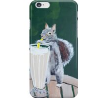 'Squirrel Thief' by Jensen Hoswell (2016) iPhone Case/Skin