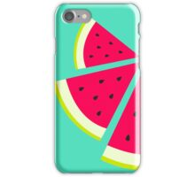 Summer Fresh Fruit - Watermelons iPhone Case/Skin