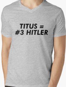 Titus Hitler Mens V-Neck T-Shirt