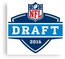 NFL Draft 2016 Canvas Print