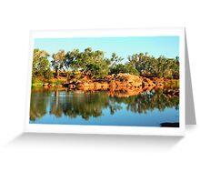 Sherlock River Reflections Greeting Card