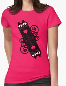 LOVECAT 2 Womens Fitted T-Shirt