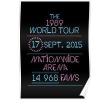 17th September - Nationwide Arena Poster