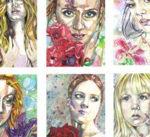 The Flower Girls Sticker