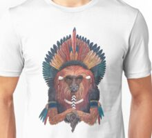 Monkey of red fire Unisex T-Shirt
