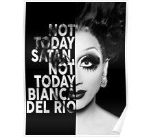 Bianca Del Rio Text Portrait Poster