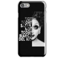 Bianca Del Rio Text Portrait iPhone Case/Skin
