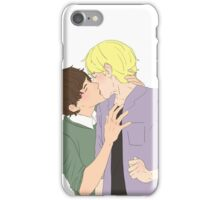 Anime boys kissing iPhone Case/Skin