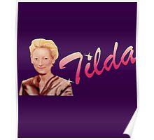 Tilda Swinton (Kimmy Schmidt) Poster