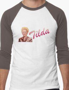 Tilda Swinton (Kimmy Schmidt) Men's Baseball ¾ T-Shirt