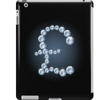 Diamond pound sterling sign iPad Case/Skin