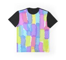Summer Colours brushstrokes Graphic T-Shirt
