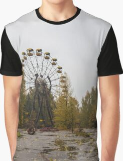 Pripyat Chernobyl Ferris Wheel  Graphic T-Shirt