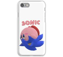 Sonic Kirby! iPhone Case/Skin