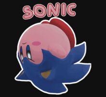 Sonic Kirby! One Piece - Short Sleeve