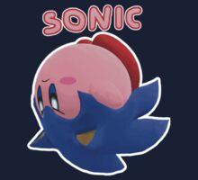 Sonic Kirby! Kids Tee