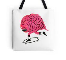 Skateboarding Brain Tote Bag