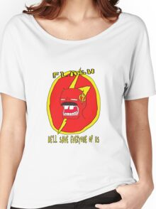 flash freddy  Women's Relaxed Fit T-Shirt