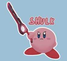 Shulk Kirby! Kids Tee