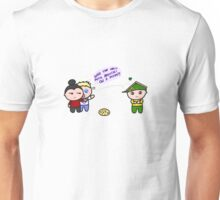 the drunk attacked the pizza guy Unisex T-Shirt