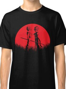 Father and Son - Bardock Goku Red Moon Classic T-Shirt