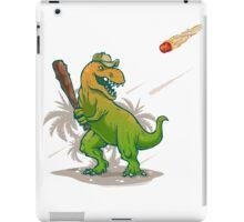 Dino baseball player iPad Case/Skin