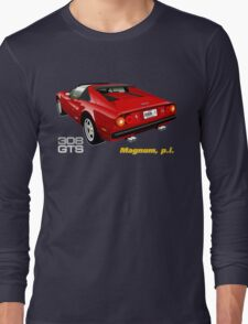 Ferrari 308 GTS from Magnum, p.i. Long Sleeve T-Shirt