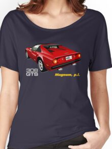 Ferrari 308 GTS from Magnum, p.i. Women's Relaxed Fit T-Shirt